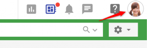 ユーザーアイコンを変更するには①